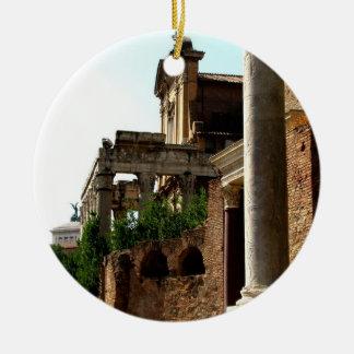 Ancient City Ceramic Ornament