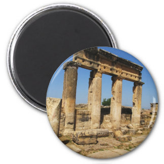 Ancient City Of Hierapolis -  a pagan cult center Magnet