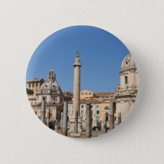 Ancient city of Rome, Italy 2 Inch Round Button