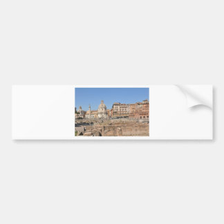 Ancient city of Rome, Italy Bumper Sticker