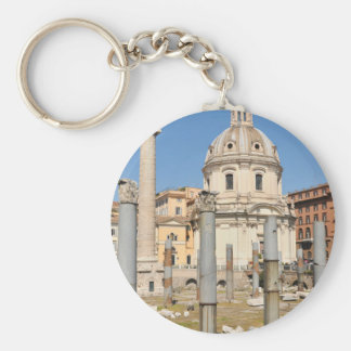 Ancient city of Rome, Italy Keychain