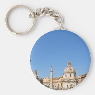 Ancient city of Rome, Italy Keychain
