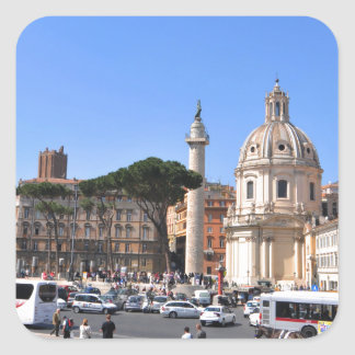 Ancient city of Rome, Italy Square Sticker