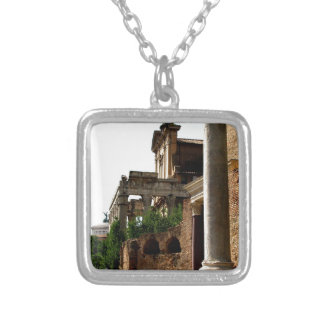 Ancient City Silver Plated Necklace