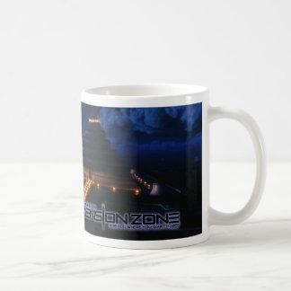 Ancient Civilization Night Basic White Mug