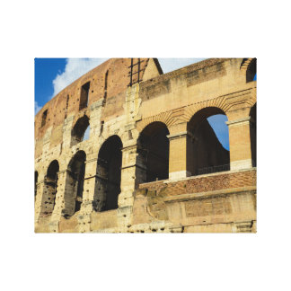 Ancient Colosseum in Rome, Italy Canvas Print