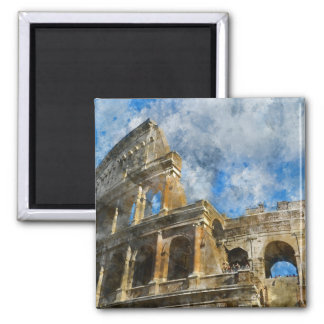 Ancient Colosseum in Rome Italy Magnet