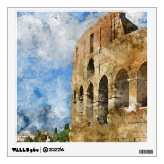 Ancient Colosseum in Rome Italy Wall Decal