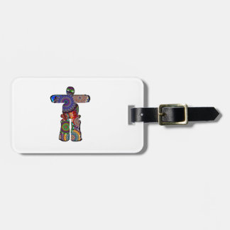 Ancient Compass Luggage Tag
