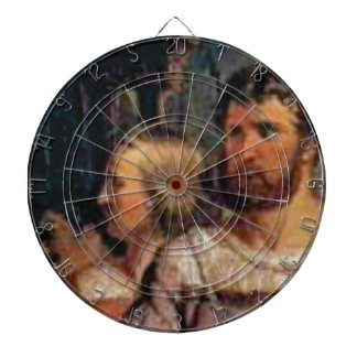 ancient couple dartboard