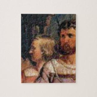 ancient couple jigsaw puzzle