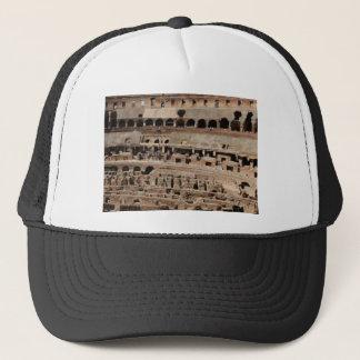 ancient crumble building trucker hat