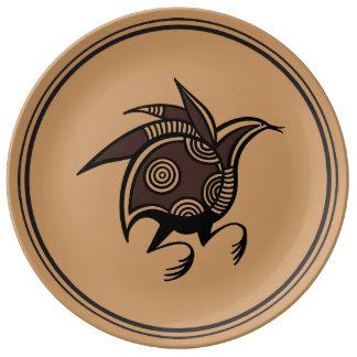 Ancient Cypriot bird motif Plate