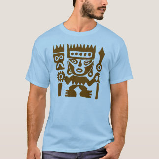Ancient drawing Peru Warrior T-Shirt
