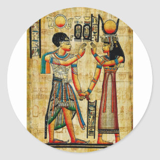 Ancient Egypt 5 Classic Round Sticker