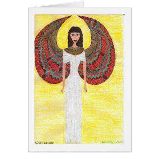 Ancient Egyptian Angel Card