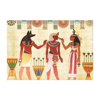 Ancient Egyptian Art Canvas Print