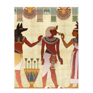 Ancient, Egyptian art style postcards
