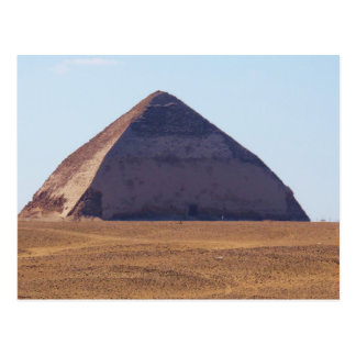 Ancient Egyptian Bent Pyramid - Dahshur Postcard