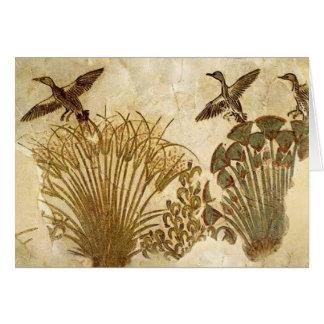 Ancient Egyptian Birds Card