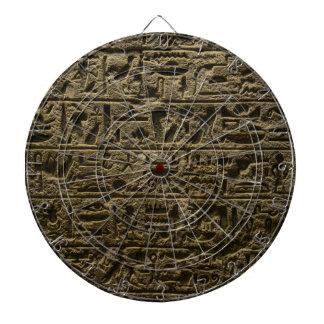 ancient egyptian hieroglyphs dartboard