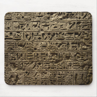 ancient egyptian hieroglyphs mouse pad