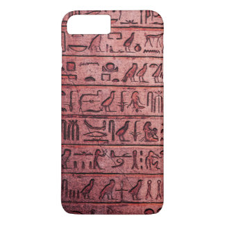 Ancient Egyptian Hieroglyphs Red iPhone 7 Plus iPhone 7 Plus Case