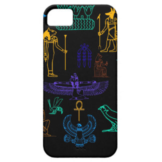 Ancient Egyptian Hieroglyphs & Symbols iPhone 5 Cases