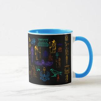 Ancient Egyptian Hieroglyphs & Symbols Mug