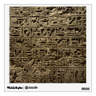 ancient egyptian hieroglyphs wall sticker