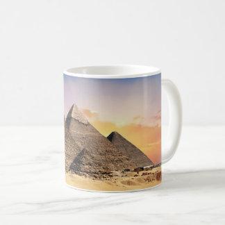 Ancient Egyptian Pyramids Photograph Coffee Mug