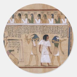 Ancient Egyptian Round Sticker