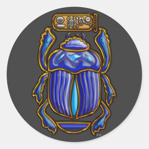 Ancient Egyptian Scarab StickerEgyptian Symbols Scarab