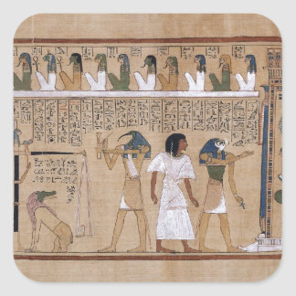 Ancient Egyptian Square Sticker