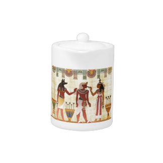 Ancient Egyptian style teapot