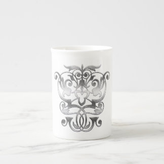 Ancient Empathic Elegance (Silver) Tea Cup