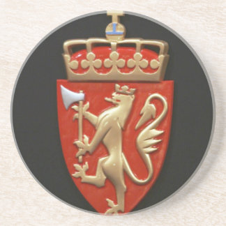 ANCIENT EUROPEAN COURT OF ARMS COASTER