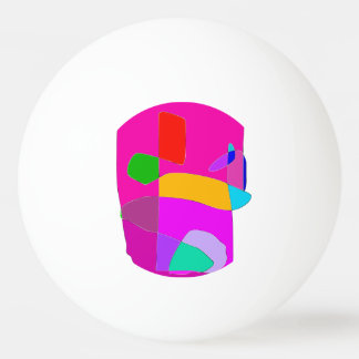 Ancient Face Ping Pong Ball