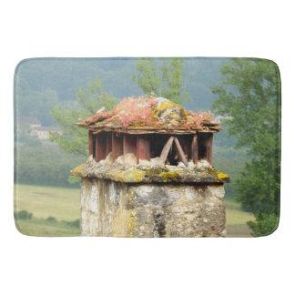 Ancient French Chimney Bath Mat