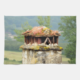 Ancient French Chimney Tea Towel