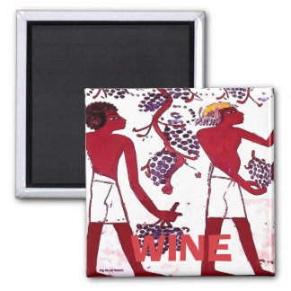 Ancient Grape Growers, Wine, edit text Magnet