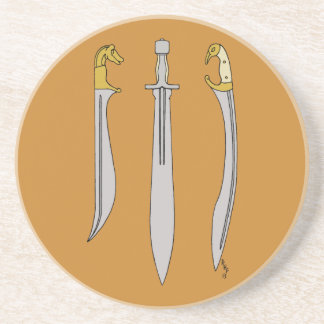 Ancient Greek Blades Coaster