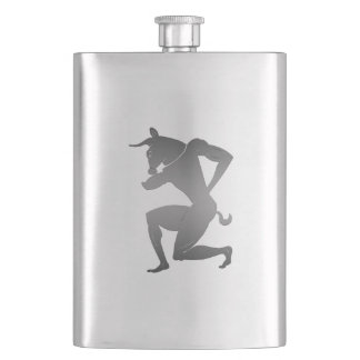 Ancient Greek Minotaur Hip Flask