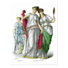 Ancient Greek Priestess and Noble Women Postcard