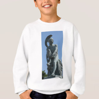 Ancient Greek Soldier in Classical Greece Sweatshirt