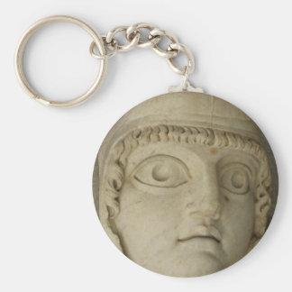 Ancient Greek statue Basic Round Button Keychain