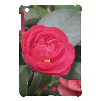Ancient japanese cultivar of red Camellia japonica iPad Mini Covers