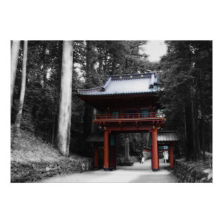 Ancient Japanese Gate Poster