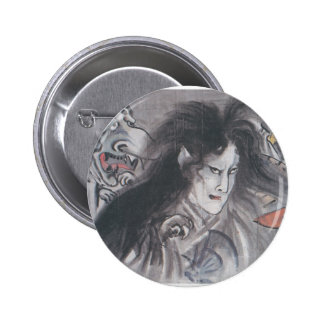 Ancient Japanese Painting of Demons and Ghosts Pins