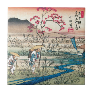 Ancient Japanese Travellers Tile